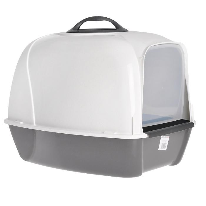 """Био-туалет для кошек MPS """"Pixi"""", цвет: белый, серый S07010102"""