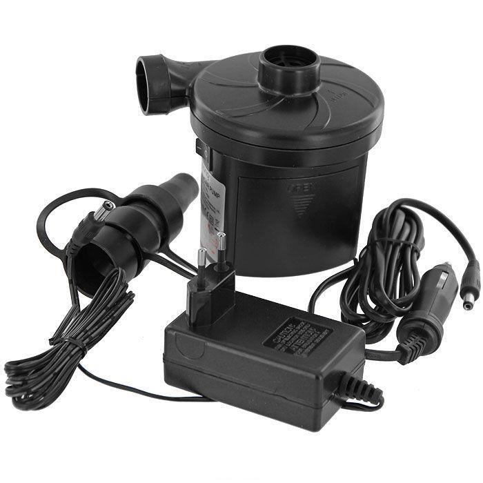 Насос электрический RELAX 3-WAY ELECTRIC 220B/12VDCATC-F-01Насос электрический RELAX 3-WAY ELECTRIC PUMP. - Напряжение 220В/12 VDC. - Стандартный разъем прикуривателя автомобиля. - 3 дополнительные насадки различной конфигурации. - Работа от батареек. Не подходит для накачивания велосипедов.Компания RELAX это широкий ассортимент продукции высокого качества, которая продается во многих странах мира.Насосы RELAX незаменимы в путешествиях и отдыхе на природе. Характеристики: Материал: пластик, металл.Размер насоса: 13 х 10 х 11 см.Размер упаковки: 13 х 11,5 х 11,5 см.Изготовитель: Китай.Артикул: JL29P312-2G.Напряжение: 220В/12VDC.3 насадки различной конфигурации.Работа от батареек.