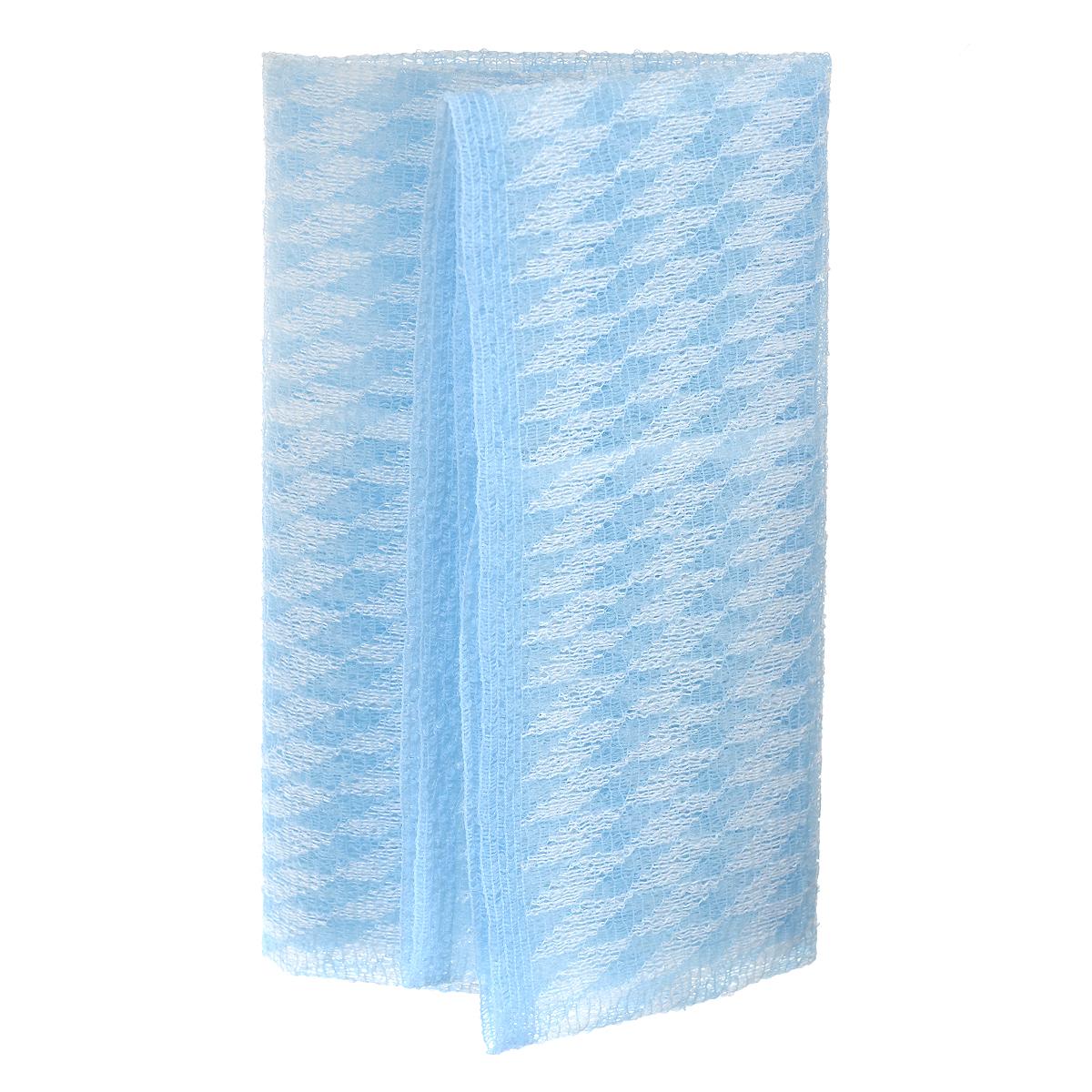 SungBo Мочалка для душа Clean&Beauty Dreams, цвет: голубой, 28 см х 90 см, 1 штУТ000000669Благодаря оригинальной вязке из гофрированного волокна мочалка создает одновременно ощущение мягкости так и ощущение пилинга, нежно отшелушивая огрубевшую кожу. Шероховатая текстура стимулирует циркуляцию крови по всему телу и помогает сохранить здоровье и упругость кожи. Мочалка позволяет получать обильную пену, используя небольшое количество геля для душа. Ее легко мыть, и она быстро сохнет. Высококачественное волокно обеспечивает долговечность. Характеристики: Материал: нейлон, полиэстер. Размер мочалки: 28 см х 90 см. Товар сертифицирован. УВАЖАЕМЫЕ КЛИЕНТЫ! Обращаем ваше внимание на ассортимент в цветовом дизайне товара. Поставка осуществляется в зависимости от наличия на складе.