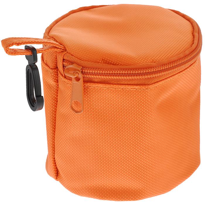 Термоконтейнер Iris FrutYog с охлаждающим гелем, цвет: оранжевый. 96809680-TNТермоконтейнер Iris FrutYog, выполненный в виде сумочки, содержит между покрытиями специальный охлаждающий гель, благодаря которому внутри поддерживается подходящая температура, и ваши продукты останутся свежими в течение 3 часов. Для активации геля, достаточно положить термоконтейнер в холодильник на 4 часа. Термоконтейнер Iris FrutYog прекрасно подойдет для вашего любимого фрукта или йогурта в баночке, а небольшой пластиковый карабинчик облегчит переноску. Характеристики: Материал: полиэстер, гель, пластик. Диаметр: 10 см. Высота: 10 см.