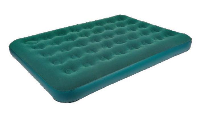 Кровать надувная RELAX DOUBLE с ножным насосом, 191 х 137 х 22 смJL026087-1N цвет зеленыйНадувная кровать AIR BED DOUBLE со встроенным ножным насосом. - Размер кровати: 191 х 137 х 22 см. - Высота 22 см. - Время надувания 5 минут. - Встроенный ножной насос. - Водостойкое велюровое покрытие не позволяет белью соскальзывать. - Самоклеящаяся заплатка в комплекте. Артикул: JL026087-1N. Материал: ПВХ. Упаковка: картон. Размер упаковки, см: 41 х 32,5 х 10 см. Вес: 3,3 кг. Комфорт, независимость от электричества и компактность делают надувные кровати RELAX отличным выбором для путешествия, кемпинга и домашнего использования. Характеристики: Упаковка: коробка. Размер упаковки: 41 х 32,5 х 10 см. Размер кровати: 191 х 137 х 22 см. Цвет: зеленый. Материал: высококачественный винил с велюровым покрытием. Встроенный ножной насос. Вес:3,3 кг. Артикул: JL026087-1N.