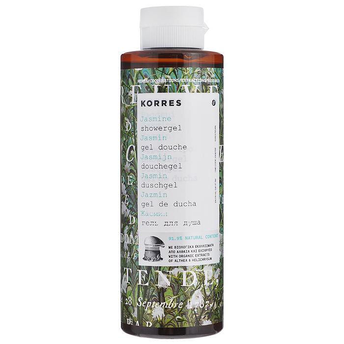 Korres Гель для душа Жасмин, 250 мл5203069043178Гель для душа Korres Жасмин, превращающийся в кремовую пену, оказывает потрясающий длительный увлажняющий эффект. Увлажненность кожи после смывания геля та же, что и после использования увлажняющих средств. Активные компоненты: экстракт алоэ, протеины пшеницы и провитамин B5. Характеристики: Объем: 250 мл. Товар сертифицирован.