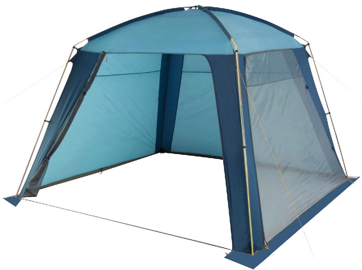 Шатер-тент TREK PLANET RAIN DOME, 320 см х 320 см х 210 см, цвет: синий, голубойS04401004Универсальный шатер четырехугольной формы TREK PLANET Rain Dome отлично подойдет как для дачи, в качестве беседки или полевого навеса, так и для кемпинга. Две стороны из полиэстера надежно защищают от ветра и дождя, две другие стороны из москитной сетки позволяют шатру отлично проветриваться.Особенности шатра:- легко собирается и разбирается;- устойчив на ветру;- две стороны шатра из полиэстера, с пропиткой PU водостойкостью 2000 мм надежно защищают от ветра и дождя;- две другие стороны из москитной сетки позволяют шатру отлично проветриваться, защищая от насекомых;- все швы проклеены;- двери из москитной сетки в полный размер стороны с молнией по периметру, удобно сворачиваются на сторону;- каркас: боковые стойки из стали, потолочные дуги из прочного стеклопластика;- прочные и удобные адаптеры для дуг со стойками;- два входа в шатер;- возможность подвески фонаря в палатке. Палатка упакована в сумку-чехол с ручками, застегивающуюся на застежку-молнию. Размер в сложенном виде 20 см х 20 см х 87 см.