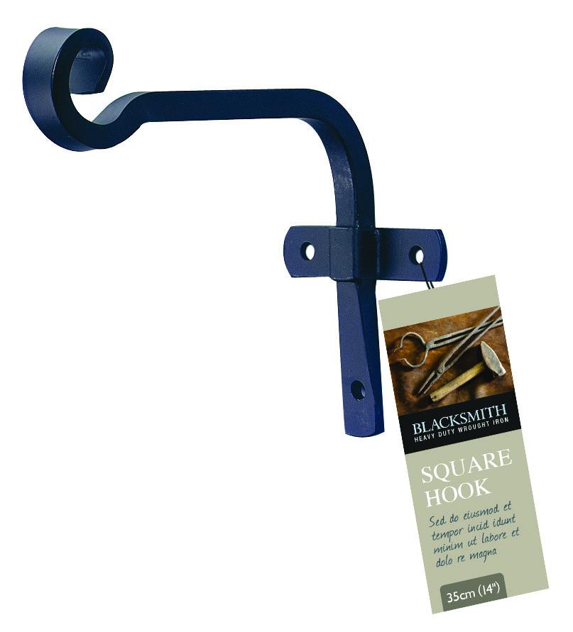 Крюк Gardman для подвешивания корзин, 15 см01225Крюк Gardman выполнен из металла. Крюк предназначен для подвешивания корзин, также можно повесить кашпо или фонарь. Крюк крепится к стене на три гвоздя или шурупа (не входят в комплект).