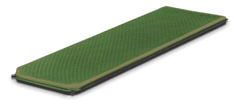 """Коврик самонадувающийся Alexika """"Alpine Plus 80"""", цвет: зеленый, 198 см х 76 см х 7,5 см 9355.7591"""