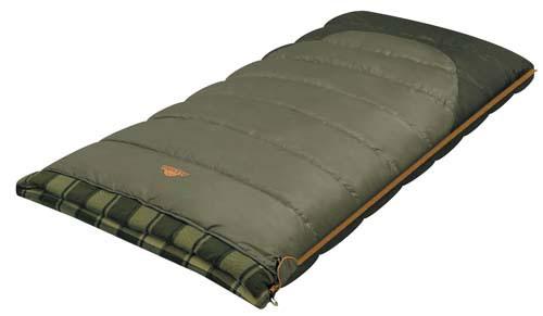 Спальный мешок-одеяло Alexika Siberia Wide, цвет: серый, правосторонняя молния. 9253.010719253.01071
