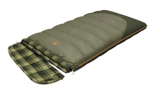 Спальный мешок-одеяло Alexika Siberia Wide Transformer, цвет: серый, правосторонняя молния. 9255.010710-70-648Качественный спальный мешок-трансформер Siberia Wide Transformer от Alexika - идеальный вариант для ночевки в кемпинге. Он наилучшим образом подойдет для отдыха, как весной, так и осенью. Спальник легко превращается в полноценное двуспальное одеяло, а также имеет отстегивающийся капюшон. Спальный мешок сделан из качественного материала с двухслойным силиконовым наполнителем, который прекрасно удерживает тепло и сохраняет форму после стирки. Наполнитель отличается повышенной устойчивостью к впитыванию запахов и влаги, а также нетоксичностью и негорючестью. Внутри мешок отделан приятной телу фланелевой подкладкой. Сохранить тепло в холодные ночи помогает и ватный валик, которым оторочен мешок по периметру. Он служит защитой от ветра и холодного воздуха, поступающего через молнию.Спальник Siberia Wide Transformer застегивается на крепкую молнию с замком и люминесцентным бегунком, который позволяет легко находить мешок в темноте. С помощью молний по бокам к мешку можно пристегнуть другой спальник, что дает возможность увеличить площадь одеяла. Вдоль молнии имеется лента, предотвращающая заедание замка. Для хранения личных вещей внутри спальника предусмотрен сетчатый карман. Модель имеет петли для просушки мешка. Особенности: Отстегивающийся капюшон Отделение под подушку с двумя входами. Лента от закусывания молнии. Сетчатый внутренний карман. Люминесцентная петля на замке молнии. Возможность состегивания спальников, имеющих молнии с правой и левой стороны. Петли для сушки. На треугольном клапане круглая липучка и светоотражающий ярлык. Утеплитель сформирован в пакеты, смещённые относительно друг друга на половину ширины пакета, что предотвращает проникновение холодного воздуха через швы.Размер в чехле: 47/37 x 27 см. Внешняя ткань верх: Polyester 190T.Внешняя ткань низ: Polyester 190T Diamond RipStop PU 250 mm H2O. Внутренняя ткань: Flannel. Утеплитель: APF-Isot