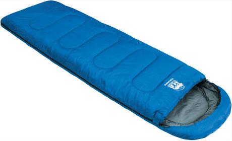 Спальный мешок-одеяло KSL Camping Plus, цвет: синий, левосторонняя молния. 6252.010526252.01052