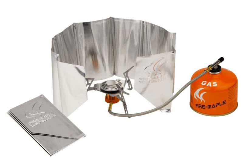 Ветрозащитный экран Fire-Maple, мягкий, 15 см х 75 см. FMW-501