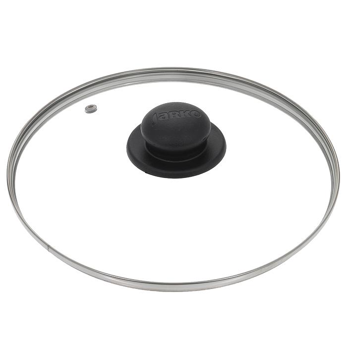 Крышка стеклянная Jarko. Диаметр 24 смКС*GTL24110Крышка Jarko, изготовленная из термостойкого стекла, позволяет контролировать процесс приготовления без потери тепла. Ободок из нержавеющей стали предотвращает сколы на стекле. Крышка оснащена отверстием для паровыпуска. Ненагревающаяся ручка выполнена из бакелита. Характеристики: Материал: стекло, нержавеющая сталь, бакелит. Диаметр крышки: 24 см.