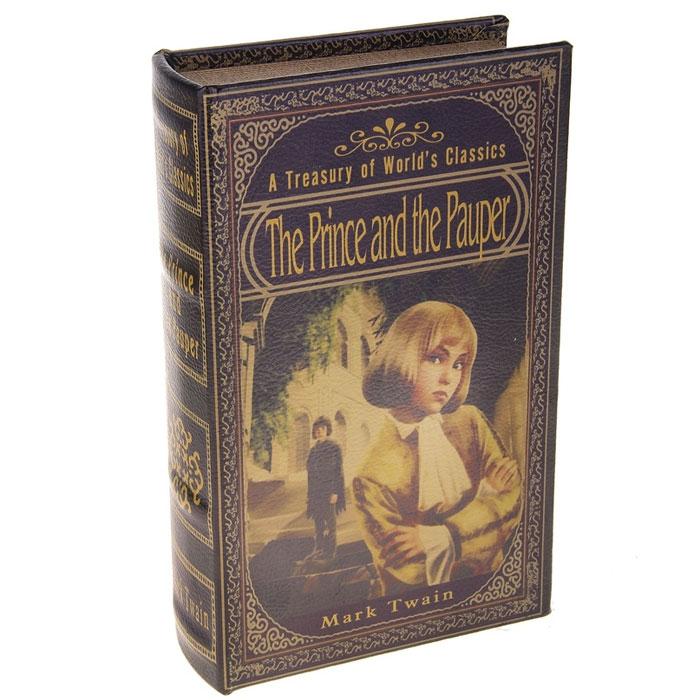 Сейф-книга Принц и Нищий, 12 x 21 x 4,5 см 680680680680