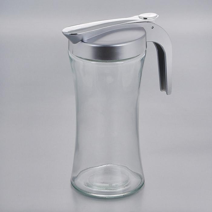 Кувшин Esprado Cristella, 1 лC0100S2E406Кувшин Esprado Cristella изготовлен из качественного прозрачного стекла, отполированного до идеального блеска и гладкости. Термостойкое стекло позволяет использовать кувшин при различных температурах (от -15°С до +100°С), что делает его функциональным и универсальным кухонным аксессуаром. Кувшин оснащен пластиковой крышкой серебристого цвета со специальной кнопкой для легкого использования. Cristella - это классическая коллекция функциональных емкостей для хранения из стекла, в которой представлены удобные современные предметы, необходимые на любой кухне. Благодаря различным дизайнерским решениям они дополнят и украсят интерьер любой кухни. Запрещается использовать в духовом шкафу, микроволновой печи и посудомоечной машине.