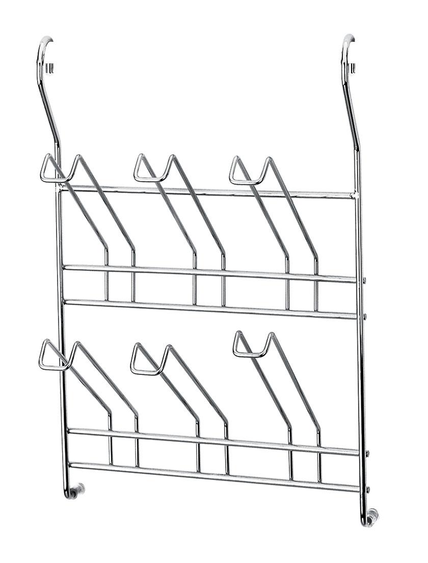 Держатель для стаканов Esprado Platinos. 0015444E2090015444E209Держатель для стаканов Esprado Platinos, выполненный из стали с никель-хромовым покрытием и дополнительным покрытием CHR20, предназначен для шести стаканов. Размещение держателя возможно только на рейлинге. Обычное покрытие из хрома составляет 12-15 микрон. Покрытие Esprado, помимо основного слоя в 15 микрон, имеет дополнительное покрытие CHR20, которое увеличивает толщину до 20 микрон. Покрытие CHR20 разработано на основе твердых смол, является абсолютно безопасным и гарантирует защиту от коррозии, сохраняя внешний вид изделия как в день покупки. Сохранить блеск поверхности очень просто - достаточно протереть их влажной салфеткой без абразивных и хлорсодержащих веществ. Многоступенчатый контроль производства рейлинговых систем Esprado включает систему тестов, направленную не только на проверку материалов для изготовления продукции, но и на соответствие продукции предполагаемым нагрузкам, оптимального угла наклона крепления полок, прочности покрытия и...