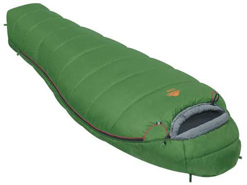 Спальный мешок Alexika West, цвет: зеленый, левосторонняя молния. 9229.010129229.01012Спальный мешок Alexika West представляет собой облегченный вариант туристического спальника, рассчитанный для использования при средних температурах. Обладая неплохой вместительностью, мешок весит всего 1,5 кг, а в чехле спальник занимает не более 13 см в длину, и очень удобен в переноске. Внутри спальника есть сетчатый карман, в который можно положить какую-нибудь необходимую мелочь, или документы. Одним из плюсов данной модели спальника является анатомический капюшон, который идеально охватывает голову, а также специальный тепловой воротник на шнурке, который не даст замерзнуть в стужу. Приятной мелочью, и также плюсом данного спального мешка является люминесцентная молния, которая светиться в темноте и которую вы не потеряете, к тому же, снабженной особой лентой, защищающей от закусывания ткани. А два бегунка позволят в жару открыть молнию у ног, для лучшей вентиляции. Спальник Alexika West легко поддается стирке и легко сушиться, благодаря специальным...