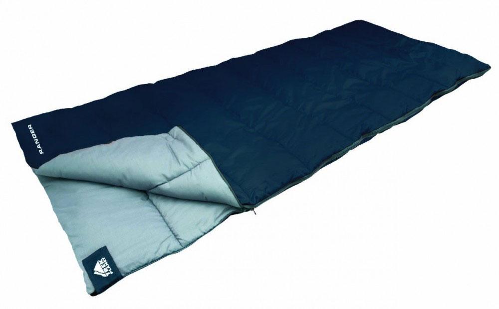 Спальный мешок TREK PLANET Ranger, правосторонняя молния, цвет: синийATC-F-01Комфортный, легкий и очень удобный в использовании, спальник-одеяло TREK PLANET Ranger предназначен для походов преимущественно в летний период. Этот спальник пригодится вам во время поездки на пикник, на дачу, во время туристического похода или поездки на рыбалку. К его несомненным достоинствам можно отнести то, что в остальное время его можно использовать как одеяло для гостей.ОСОБЕННОСТИ СПАЛЬНИКА:- Двухсторонняя молния.- Термоклапан вдоль молнии.- Внутренний карман.- Небольшой вес.- Состегивание двух спальников модели невозможно. К спальнику прилагается чехол для удобного хранения и переноски. Характеристики: Цвет: синий.Температура комфорта: +14°C.Температура лимит комфорта: +11°C.Температура экстрима: 0°C.Внешний материал: 100% полиэстер .Внутренний материал: 100% полиэстер.Утеплитель: Hollow Fiber 1x200 г/м2.Размер: 190 см х 80 см.Размер в чехле: 20 см х 20 см х 38 см.Вес: 1,3 кг.Производитель: Китай.Артикул: 70351.