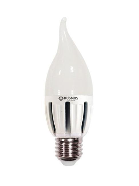 Светодиодная лампа Kosmos Premium, теплый свет, цоколь Е27, 5W. KLED5wCW230vE2727RSP-202SИспользование светодиодов от мирового лидера SAMSUNG и предоставление 2 лет гарантии – залог надежной и стабильной работы лампы. Теплый оттенок света лампы по цветовой температуре соответствует обычной лампе накаливания и позволит создать уют в спальнях и местах отдыха.