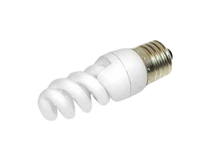 Лампа энергосберегающая Estares Спираль, теплый свет, цоколь Е14, 11W10228Энергосберегающая лампа Estares Спираль теплого света способствует расслаблению, ее лучше использовать в спальнях, местах отдыха. Сфера применения энергосберегающей лампы Estares та же, что и у лампы накаливания, но данная лампа имеет ряд преимуществ: температура колбы ниже, чем у ламп накаливания, что позволяет использовать энергосберегающие лампы в тканевых абажурах без риска их выцветания и возникновения пожара; полностью заменяет галогенные и обычные лампы накаливания. Лампа обладает высоким индексом цветопередачи Ra >80. Это означает, что все цвета объектов, освещаемые лампой, выглядят естественно и натурально. Лампа оборудована системой плавного запуска, позволяющего лампе загораться постепенно в течение 1-2 секунд. Электронное пускорегулирующее устройство не вызывает стробоскопического эффекта при работе лампы, что оказывает благоприятное воздействие на глаза человека и его нервную систему.