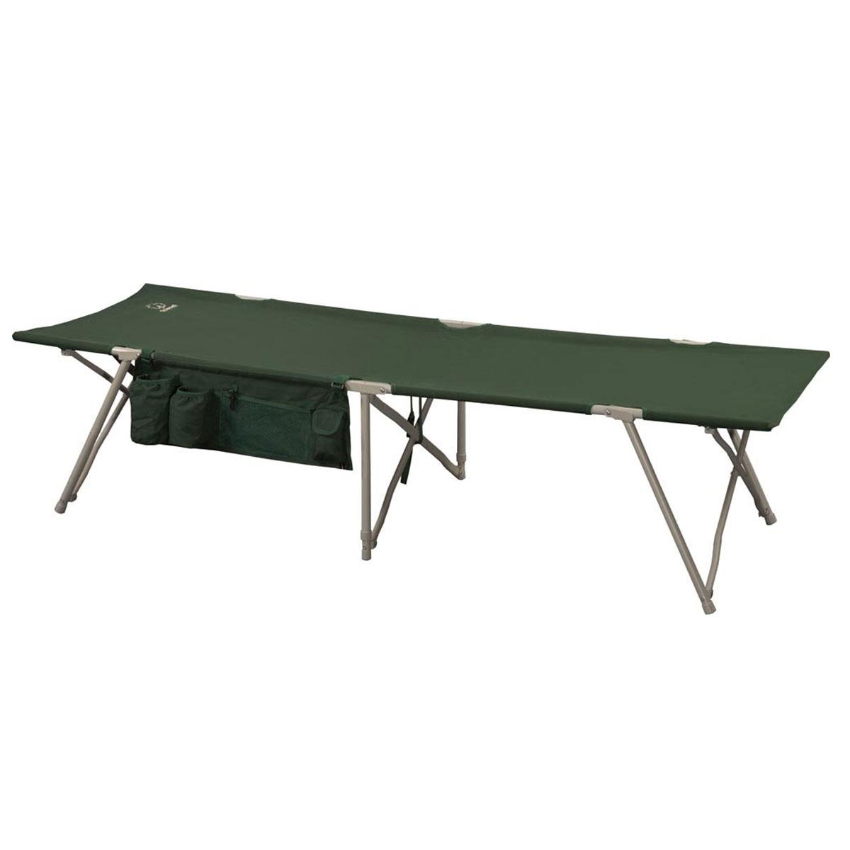 Кровать складная Greenell BD-3, цвет: зеленый, 190 см х 64 см х 43 смF183Удобная и компактная кровать для кемпинга Greenell BD-3 отличается совершенным механизмом, простотой сборки-разборки и малыми габаритами в сложенном виде. Кровать выполнена из прочного полиэстера. Каркас - сталь диаметром 16 мм.В комплект входит чехол для хранения и переноски.