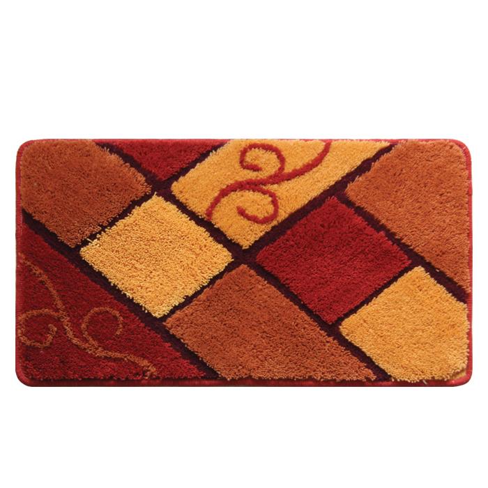 Коврик для ванной комнаты Milardo Plain Tiles, 40 х 70 см 460A470M12460A470M12Коврик для ванной комнаты Milardo Plain Tiles выполнен из 100% акрила - прочного, долговечного материала, который быстро сохнет. Мягкий и приятный на ощупь коврик имеет латексную основу, благодаря которой он не скользит по полу. Края коврика обработаны оверлоком. Можно использовать на полу с подогревом. Коврик можно стирать в стиральной машине в щадящем режиме при температуре не выше 40°C отдельно от остального белья.