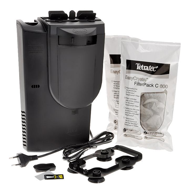 Фильтр внутренний для аквариумов Tetra EasyCrystal 600 Filter Box0120710Фильтр внутренний для аквариумов Tetra EasyCrystal 600 Filter Box - это внутренний аквариумный фильтр с отсеком для нагревателя, для кристально чистой, здоровой воды, благодаря инновационным фильтрующим картриджам, которые можно быстро и легко менять - оставляя руки сухими!Обеспечивает кристально чистую, здоровую воду, благодаря интенсивной механической, биологической и химической фильтрации;Механическая фильтрация: двусторонняя фильтрующая губка для надежного удаления мельчайших частичек грязи;Биологическая фильтрация: система BioGrid и огромная площадь для заселения полезными бактериями;Химическая фильтрация - специальный активированный уголь борется с загрязнением воды и неприятными запахами;Компактная конструкция позволяет сэкономить место в аквариуме;Сертификаты контроля качества TUV/GS. Гарантия 2 года.