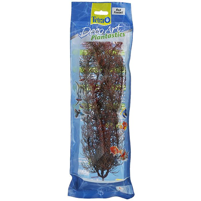 Искусственное растение для аквариума Tetra Перистолистник красный L0120710Это растение хорошо подойдет для оформления аквариума.Естественно выглядящее искусственное растение;Для использования в любых аквариумах;Создает отличное место для укрытия (в т.ч. для метания икры);Легко и быстро устанавливается, является абсолютно безопасным;Не требует ухода;Долгое время не теряет форму и окраску. Размер растения: 30 см.