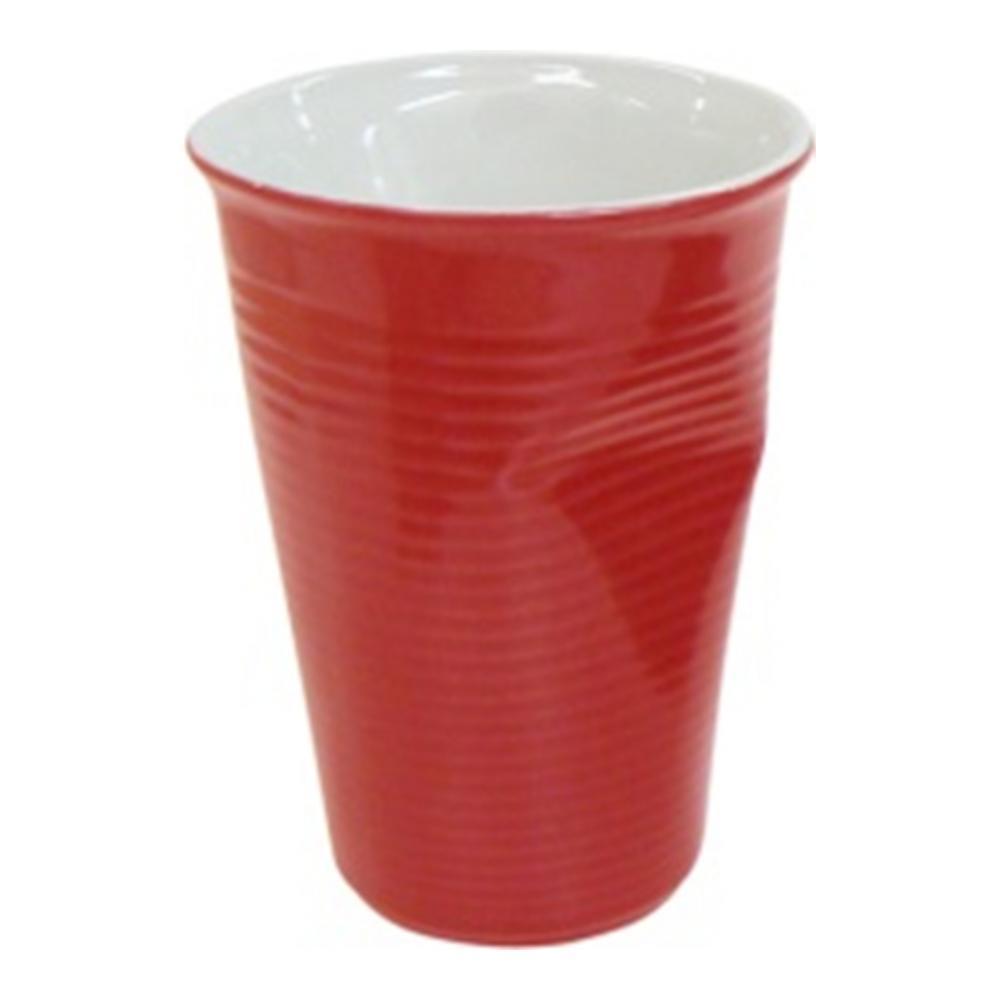 """Стакан Ceraflame """"Мятый стаканчик"""", цвет: красный, 240 мл 080710G"""