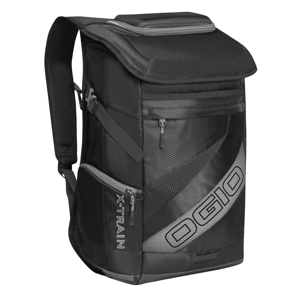 Рюкзак спортивный OGIO X-Train, цвет: черный, серый. 112039.030112039.030Спортивный рюкзак OGIO X-Train - это отличный помощник в вашей жизни. Он отлично подойдет для занятия спортом, фитнессом, туризмом, и для повседневной носки. Особенности: Удароустойчивый армированный карман. Отстегиваемая внешняя лямка для крепления шлема. Боковые ремешки для крепления полотенец или ковриков. Специальный отдел для хранения сухой/мокрой одежды или обуви в режиме тренировки или для iPad в режиме обучения. Высокопрочные и легкие материалы. Перегородка отделяет основное отделение от отделения для мокрой/сухой одежды или обуви. Особое покрытие отделения для мокрой/сухой одежды или обуви облегчает чистку. Эргономичные, регулируемые плечевые лямки, подбитые мягким материалом. Устойчивая к трению брезентовая основа. Встроенный полноразмерный карман для бутылки. Регулируемый нагрудный ремень. Объем: 23 л. Материал: Кросс-добби 420D, гекс-рипстоп 210D.