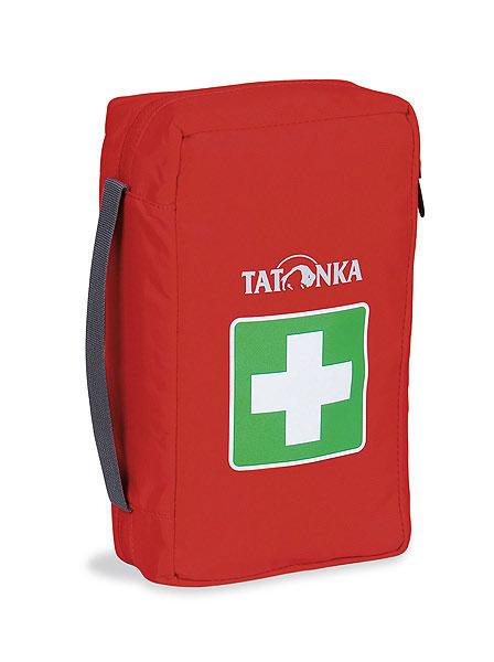 Сумка для медикаментов (аптечка) Tatonka First Aid M, цвет: красный. 2815.01506/5/07Компактная походная аптечка (без содержимого). Аптечка удобно раскладывается, имеет множество кармашков внутри, молнию по периметру и петли для крепления на пояс.Особенности: молния по периметру,петли для крепления на пояс,удобные кармашки внутри,прочный материал.