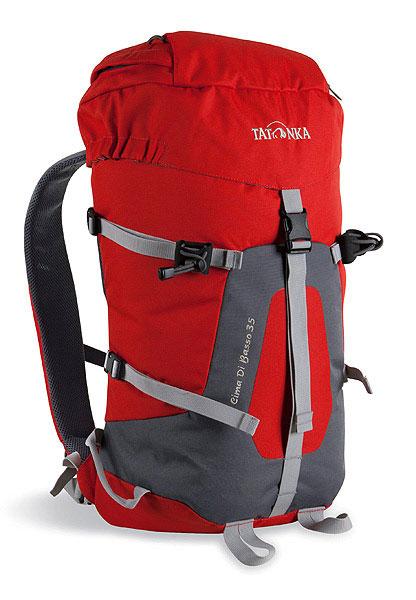 Спортивный рюкзак Tatonka Cima di Basso 35, красный. 1491.0151491.015Легкий горный рюкзак. Отлично подходит для восхождений и короткого треккинга. Подвеска Padded Back и съемный поясной ремень обеспечивают отличную фиксацию рюкзака на спине. Боковые стяжки позволяют закрепить на рюкзаке веревку. Предусмотрено два места для крепления палок или ледоруба. Особенности: система подвески Padded Back. съемный поясной ремень. держатели для ледоруба. клапан в крышке рюкзака. боковые стяжки. Материал: Textrem 6.6; 450 HD Polyoxford. Объем: 35 л.