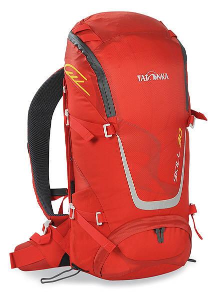 Рюкзак спортивный Tatonka Skill 30, цвет: красный, 30 л1480.015Легкий спортивный рюкзак Tatonka Skill 30 с фронтальной загрузкой. Новая система подвески X Vent Zero обеспечивает отличную вентиляцию спины, фиксацию и распределение груза. Рюкзак имеет хорошее оснащение при весе меньше 1 кг. Особенности рюкзака: Подвеска X Vent Zero. Удобный доступ в основное отделение на водонепроницаемой молнии. Петли на клапане для крепления дополнительного снаряжения. Держатель ключей. Дождевой чехол яркого цвета. Мягкие лямки эргономичной формы с эластичным нагрудным ремнем. Мягкий поясной ремень. Боковые стяжки. Петли для палок или ледоруба. Отдельный доступ в нижнее отделение. Ручка для переноски.