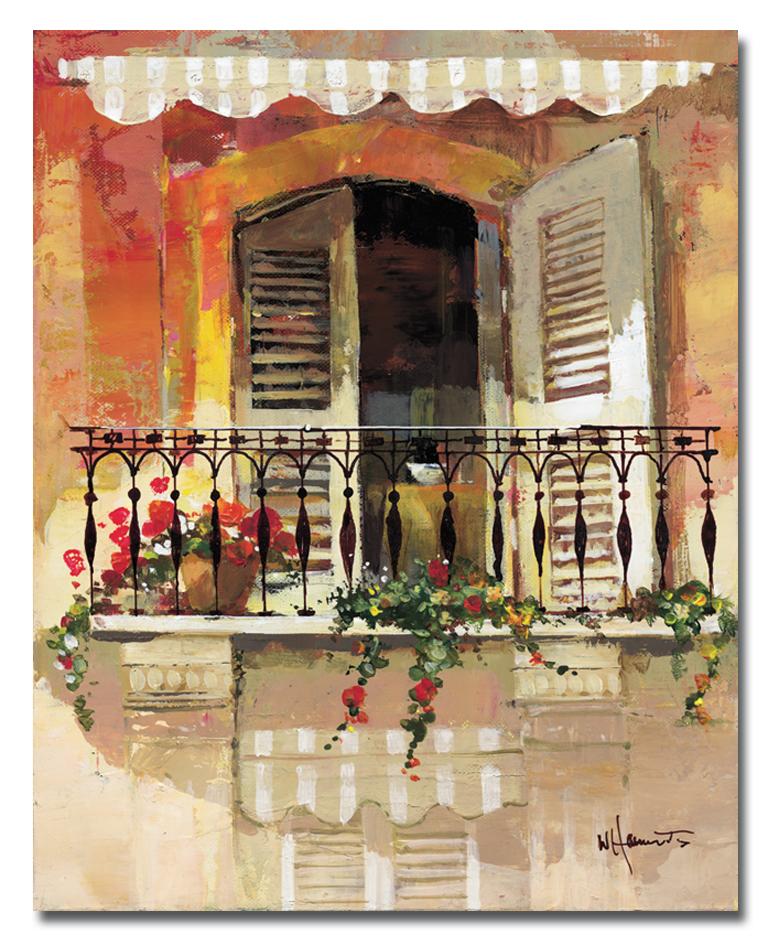 Канвас Idea Балкончик, 40 х 50 смES-412Канвас - это ткань с художественной фотопечатью, натянутая на деревянный каркас. Такое изделие - оригинальный декоративный элемент, способный преобразить любой интерьер. Картина оформлена красочным изображением балкона. С задней стороны имеется петелька для подвешивания к стене. Стильный, современный дизайн, а также яркие и насыщенные цвета сделают эту картину прекрасным дополнением интерьера комнаты.