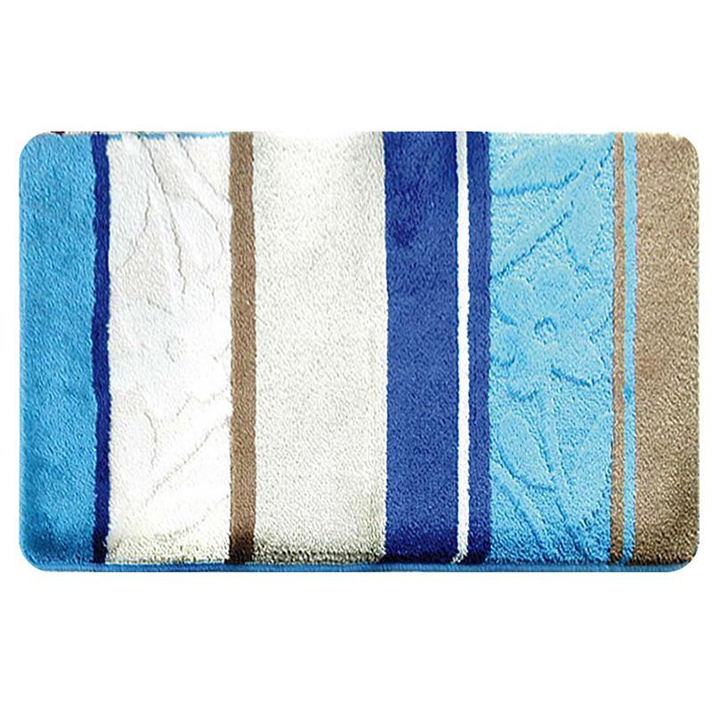 Коврик для ванной комнаты Milardo Seaside, 40 см х 70 см. MMI070AMMI070AКоврик для ванной комнаты Milardo Seaside выполнен из 100% акрила - прочного, долговечного материала, который быстро сохнет. Мягкий и приятный на ощупь коврик имеет латексную основу, благодаря которой он не скользит по полу. Края коврика обработаны оверлоком. Можно использовать на полу с подогревом. Коврик можно стирать в стиральной машине в щадящем режиме при температуре не выше 40°C отдельно от остального белья.