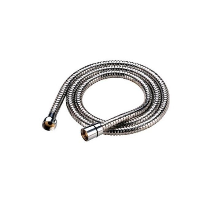 Шланг для душа Iddis, длина 1,5 м. A5021115A50211 1.5Гибкий шланг Iddis выполнен из нержавеющей стали. Стальная гильза препятствует расширению внутреннего диаметра шланга в месте его соединения со штуцером, предотвращая срыв шланга со штуцера. Для соединения спирали в шлангах из нержавеющей стали используется система Double Lock, обеспечивающая повышенную прочность и надежность изделию. Система Twist-Free предотвращает перекручивание шланга, что позволяет комфортно принимать душ, а также продлевает срок службы изделия. Шланги комплектуются прокладкой с фильтром 100 мкм, который предотвращает засорение форсунок лейки. Толщина стенок шланга: 2,2 мм. Толщина стальной гильзы: 0,4 мм.