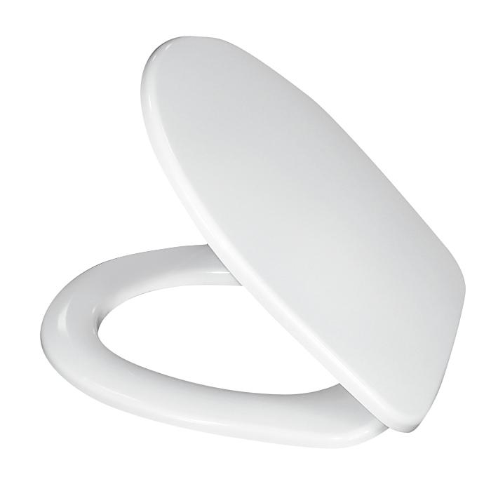 Сиденье для унитаза Milardo, универсальное, цвет: белый. 020PP00M31020PP00M31Размер крышки: 37 х 42 см.
