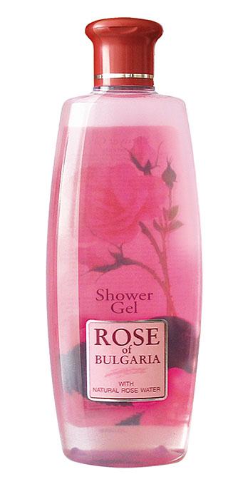 Rose of Bulgaria Гель для душа, 330 млFS-00897Нежный и деликатный душ-гель Rose of Bulgaria для ежедневной гигиены тела. Эффективно смывает загрязнения, не нарушая физиологический баланс кожи. Содержит уникальную болгарскую натуральную розовую воду с большим содержанием эфирного розового масла, обладающим отличными антибактериальными свойствами. Гель не раздражает и не сушит кожу, создает длительное чувство чистоты и комфорта. Трудно отказать себе в удовольствии принять душ, используя гель с нежным ароматом лепестков розы. Благодаря эффекту натуральной розовой воды с большим содержанием эфирного розового масла и густой пены, гель деликатно очищает кожу, делая ее бархатистой и нежной, снимает усталость и стресс. Гель обеспечивает коже необходимое питание и увлажнение, оказывает противовоспалительное и антисептическое действие. Гель также создает длительное ощущение чистоты и комфорта. Товар сертифицирован.