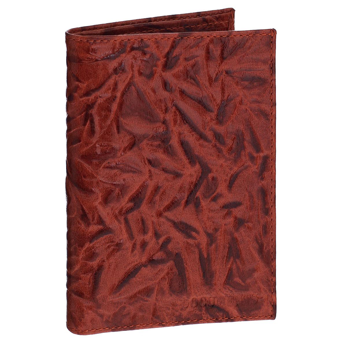 Бумажник водителя Askent Donna, цвет: коричнево-красный. BV.26.DN98293777Бумажник водителя Askent Donna выполнен из натуральной кожи с декоративным рельефным тиснением. Имеет внутри два кармана из кожи, отделение для купюр, семь прорезных карманов для кредитных карт и внутренний блок из прозрачного пластика (6 карманов).Такой бумажник станет отличным подарком для человека, ценящего качественные и необычные вещи.
