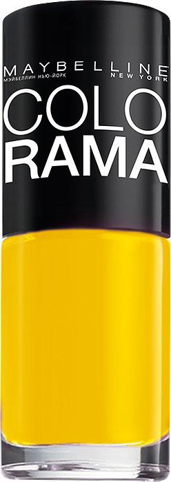 Maybelline New York Лак для ногтей Colorama, оттенок 749, Банана-шэйк, 7 млB2089303Самая широкая палитра оттенков новых лаков Колорама. Яркие модные цвета с подиума. Новая формула лака Колорама обеспечивает стойкое покрытие и создает еще более дерзкий, насыщенный цвет, который не тускнеет. Усовершенствованная кисточка для более удобного и ровного нанесения, современная упаковка. Лак для ногтей Колорама не содержит формальдегида, дибутилфталата и толуола.