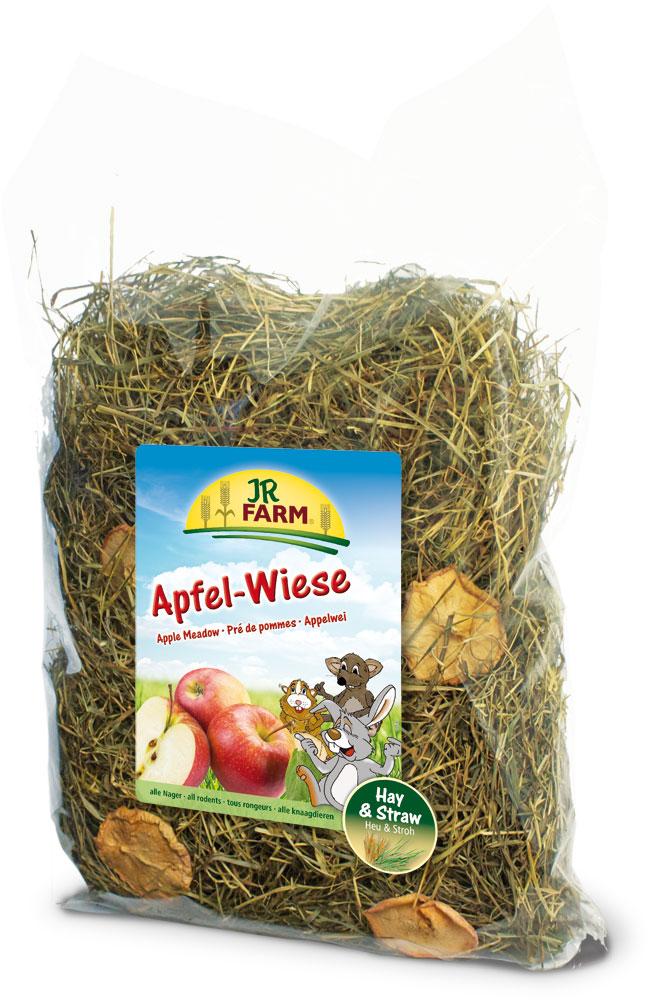 Сено JR Farm, с яблоками, 500 г25614Растительный корм для кроликов и других грызунов JR Farm изготовлен из нежно высушенных трав альпийского луга с очень высоким содержанием листьев. Сено обогащено злаковыми травами и добавлено яблоко. Сено из натуральных трав - обязательный грубый корм в рационе карликовых кроликов и морских свинок, и оно должно быть всегда в свободном доступе и необходимом объеме для животного. Состав: сено, яблоко. Пищевая ценность: белок - 11,7%, жиры - 2,6%, клетчатка - 22,9%, зола - 6,9%. Вес: 500 г. Товар сертифицирован.