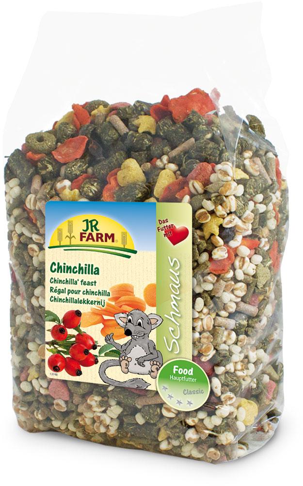 Корм для шиншилл JR Farm Classic, 1,2 кг36911Корм для шиншилл JR Farm Classic - корм супер премиум класса. Данная смесь является натуральным полноценным кормом для всех шиншилл. Высокое содержание клетчатки и низкий процент зерна поддерживает здоровое пищеварение и способствует снижению вероятности набора лишнего веса. С большим количеством овощей, витаминов и минералов для здорового образа жизни, полной сил. Анализ: протеин 14,3%, жиры 4,5%, клетчатка 16,5%, зола 7,4%. Состав: рисовая мука, кукурузная мука, люцерна, пшеничные отруби, тимофеевка луговая, ежа луговая, морковь 4%, мятлик луговой, ростки солода, ячмень, подорожник, красный клевер, овсяница луговая, манжетка, шиповник 3%, воздушная пшеница, пшеница, мята, экстракт подсолнечника, травяная мука, овес. Вес упаковки: 1,2 кг. Товар сертифицирован.