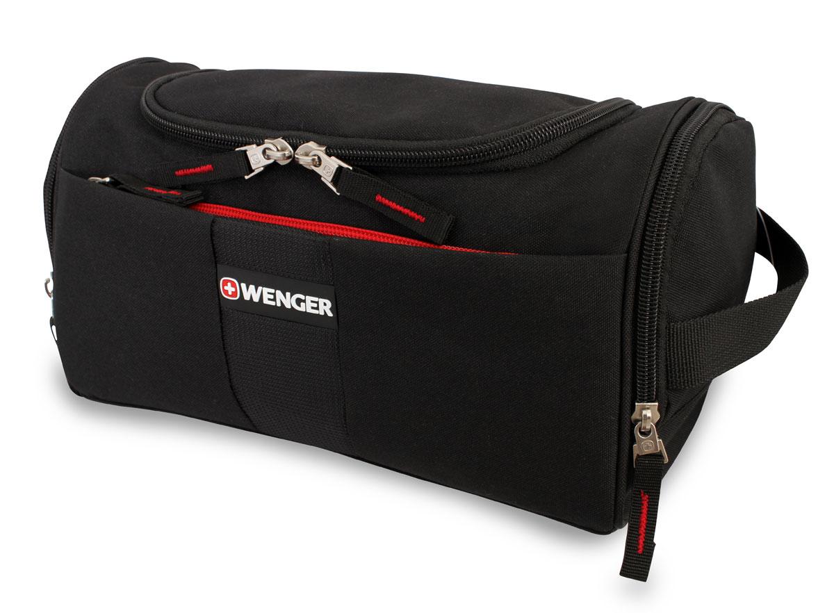 Несессер Wenger, цвет: черный, 27 см х 15 см х 15,5 см 608509