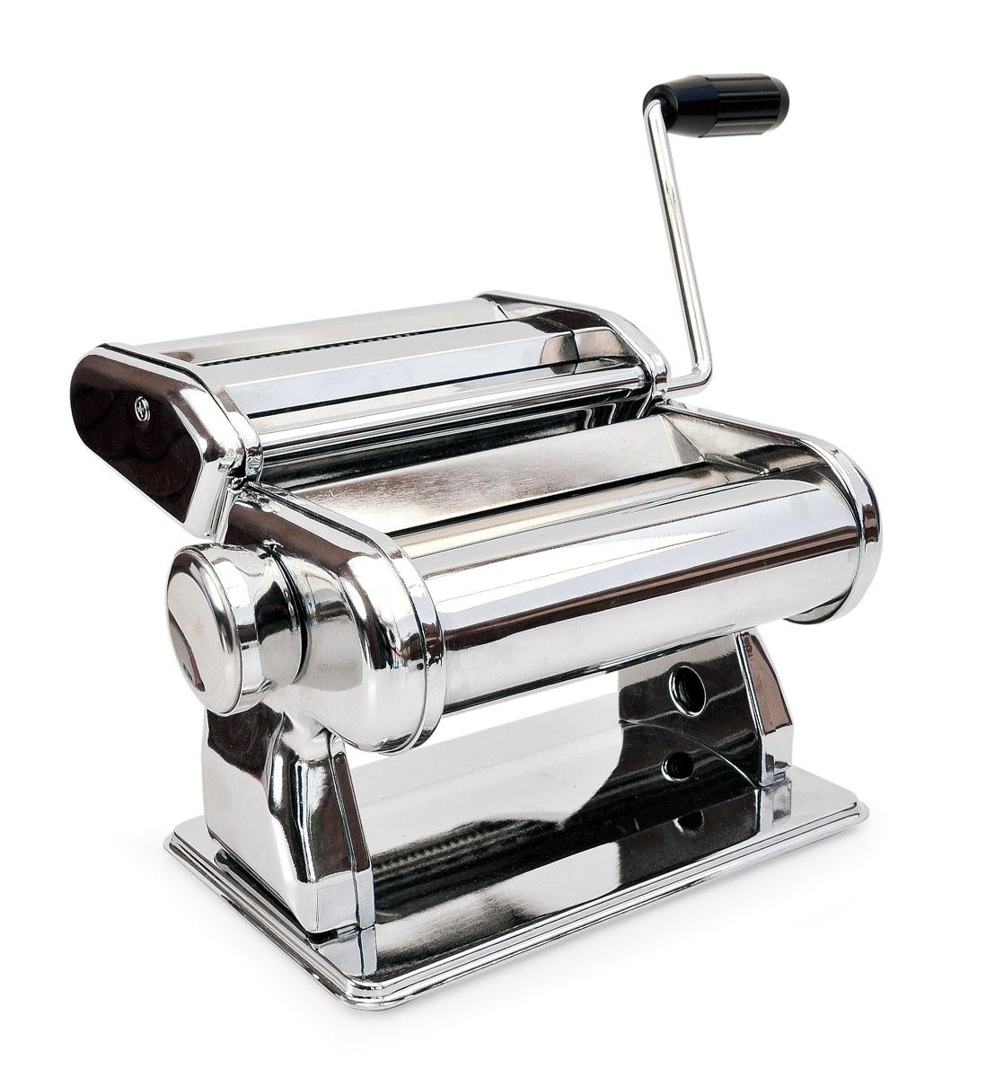 Машинка для приготовления лапши (ручная) PASTA MAKER3353-IМногофункциональная машинка «Pasta Maker» от IRIS (Испания) предназначена для раскатывания теста и приготовления домашней лапши и спагетти. Она станет для вас незаменимой помощницей на кухне и превратит занятие домашней кулинарией в настоящий праздник! С помощью «Pasta Maker» Вы сможете быстро и без труда приготовить множество первых и вторых блюд и даже разнообразную домашнюю выпечку (супы и лагманы, пельмени и манты, тонкие рисовые блинчики для «Утки по-Пекински», лазанью, торты «Наполеон» или «Птичье молоко», домашние пирожки, «хворост» и многое-многое другое). «Pasta Maker» позволит сохранить семейный бюджет, ведь готовить дома популярные повседневные блюда намного дешевле, чем покупать аналогичные полуфабрикаты в магазине. А самое главное, что благодаря «Pasta Maker» ваше питание станет намного качественнее, что благотворно скажется на здоровье! С помощью «Pasta Maker» можно раскатать тесто толщиной от 0,5 до 3,5 мм. Толщина регулируется поворотом специальной ручки в одно из 8...