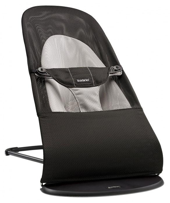 """Кресло-шезлонг BabyBjorn """"Balance Soft Air"""", цвет: черный 0050,28"""