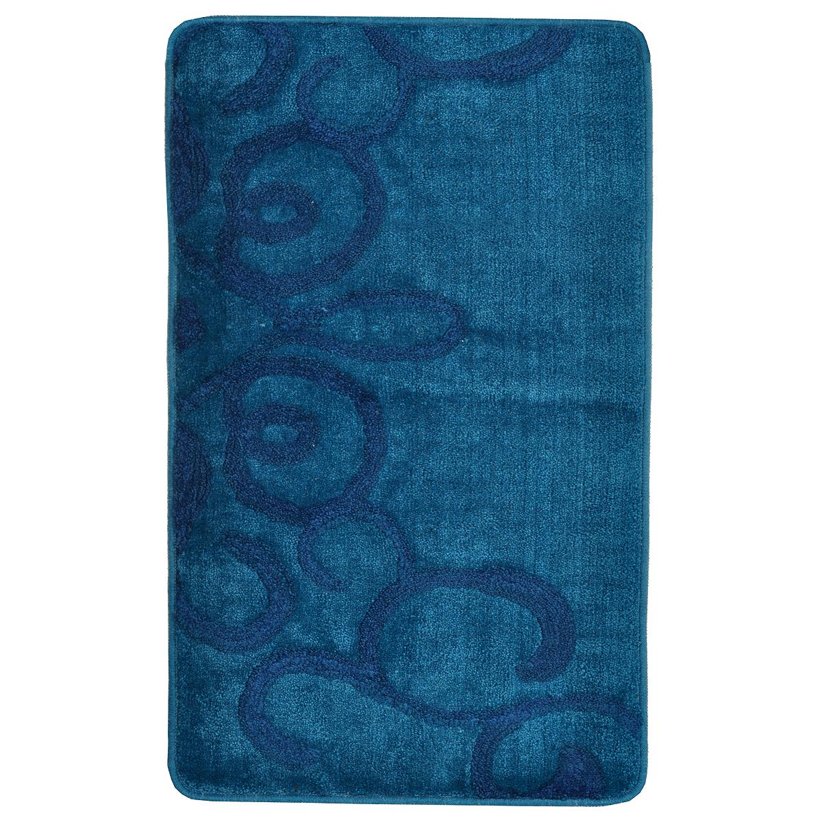 Коврик для ванной комнаты Milardo Fairyland Blue, 50 х 80 см 473PA58M12473PA58M12Коврик для ванной комнаты Milardo Fairyland выполнен из 90% полиэстера и 10% акрила - мягкого и износостойкого материала, который быстро сохнет. Мягкий и приятный на ощупь коврик имеет латексную основу, благодаря которой он не скользит по полу. Края коврика обработаны оверлоком. Можно использовать на полу с подогревом. Коврик можно стирать в стиральной машине в щадящем режиме при температуре не выше 40°C отдельно от остального белья.