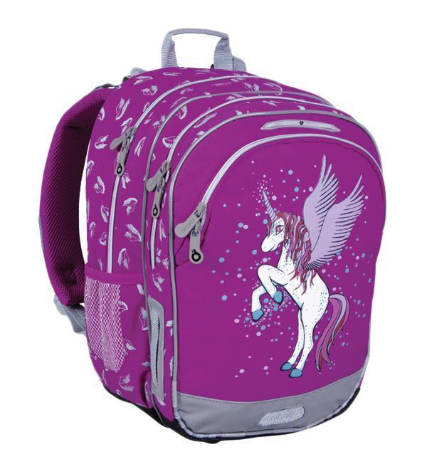 Рюкзак детский TOPGAL CHI-605 / ICHI-605 / IШкольный рюкзак с анатомической спинкой, которая не позволяет перегружать позвоночник ребенка. В комплект входит мешок для обуви и защитный чехол.