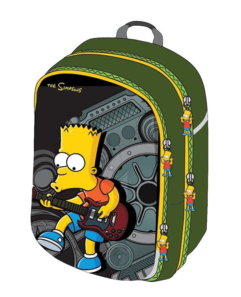 Рюкзак детский Proff The Simpsons The Simpsons SI14-HBP1SI14-HBP1Рюкзак школьный Proff The Simpsons SI14-HBP1 ,благодаря своей жесткой и эргономичной спинке, будет поддерживать осанку вашего ребенка в норме, а материал и замок на молнии оставит все содержимое рюкзака в полной сохранности.