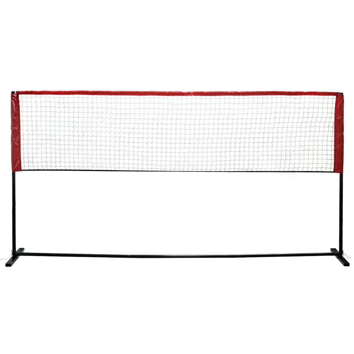 Мини-набор для бадминтона Fan Chiou, цвет: черный, 3 м х 1,55 мMBN-3Любительский набор для игры в бадминтон или теннис. Стойки легко собираются и регулируются в зависимости от того играете вы в бадминтон или теннис. Размер сетки 3 м х 0,8 м. Набор упакован в компактный чехол.