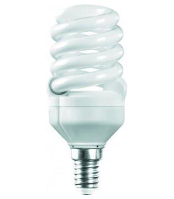 Camelion LH20-FS-T2-M/827/E14 энергосберегающая лампа, 20ВтLH20-FS-T2-M/827/E14Энергосберегающая лампа 20Вт Camelion LH20-FS-T2-M/827/E14, 10597 компактна по размеру, но по своей мощности (20 Вт) эквивалентна мощности обычной лампы в 100 Вт. Дает ровный яркий свет и не мерцает при включении. Такую лампу можно использовать в осветительных приборах, чей цоколь имеет размер Е14. Плавный пуск защищает элементы лампы от разрушения и продлевает срок эксплуатации. Высокий индекс цветопередачи (Ra 80) позволяет видеть натуральные цвета всех освещаемых предметов.