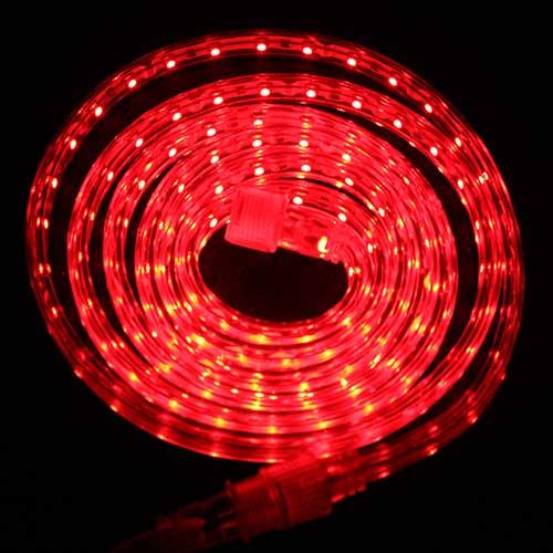 Светодиодная лента Luck&Light, 5 метров, цвет: красный