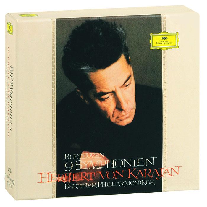 Herbert von Karajan, Berliner Philharmoniker. Beethoven. The Symphonies. Deluxe Limited Edition (5 CD + Blu-Ray Audio) 1963