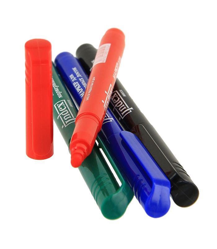 Набор маркеров Index для доски, 4 цвета. IMW530/4FS-36054В маркерах используются нетоксичные высококачественные чернила на спиртовой основе.